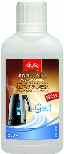 Melitta 196272 Flüssiges Entkalker-Gel für Wasserkocher, 250 ml, Anti Calc