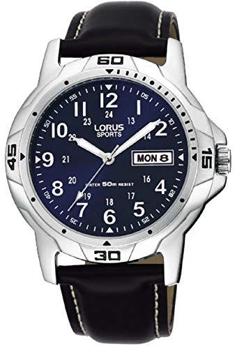 Lorus Herren-Armbanduhr Analog Leder RXN51BX9