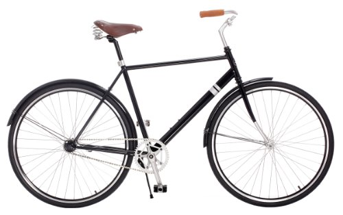 Best Price the Windward City Cruiser by Sole Bicycles, 46cm/Small, Black/Black