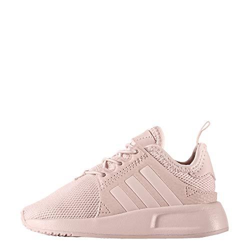 adidas Originals Baby Unisex's X_PLR Sneaker, Ice Pink/Ice Pink/Ice Pink, 4 M US Infant