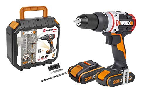 Worx WX354 Taladro Percutor Brushless Slammer Drill