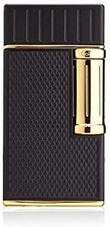 Colibri Julius Flint Double Flame Lighter - Black & Gold