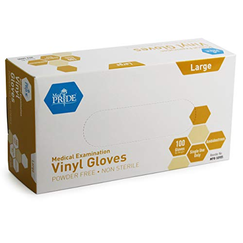Medpride Medical Vinyl Examination Gloves – IN STOCK ONLINE!