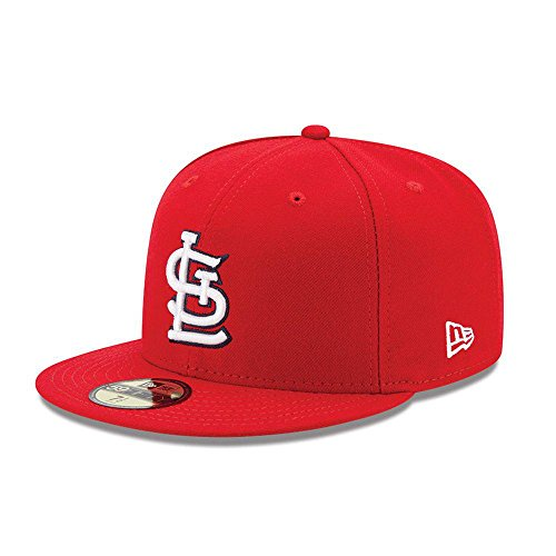 New Era St Louis Cardinals MLB Authentic Collection 59Fifty Cap Red/White Size Fitted 7 1/2