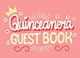 Quinceanera guest book: Pink Quince Party Keepsake Memory Book with Space for message