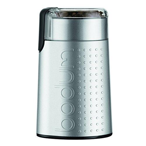 Bodum Bistro Elektrische Kaffeemühle, Silber