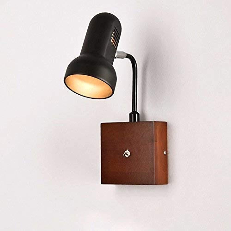 Die nordischen Lnder Echtholz Art der Lampen Lounge mit Holz und die Wnde, hell Modern, minimalistisch kreativ wie die Schlafzimmer Nachttischlampe Japanisch, B (Farbe   A)