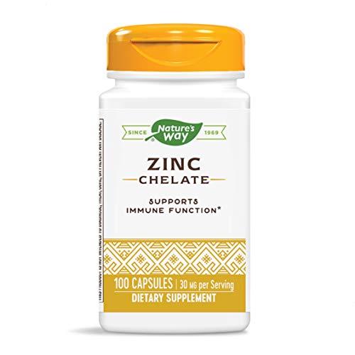 Nature's Way Zinc, 30 mg per serving