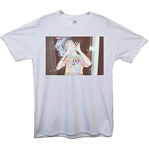 JNT Qre Miley Cyrus Smoking T-Shirt Summer Menshort Sleeve T-Shirt PmTYR