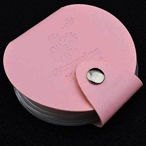 Vovotrade ❤❤ Organizer Bag Stamp Stamping Nail Art DIY Holder Modèle Image Plate Case_Rose