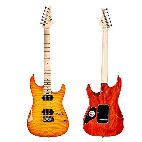 EART 6 String Solid-Body Electric Guitar, Right,Full -Maple Fingerboardm,Exquisite Veneer