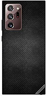 Protective Case Cover For Samsung Galaxy Note 20 Ultra Dots Black Leather Pattern