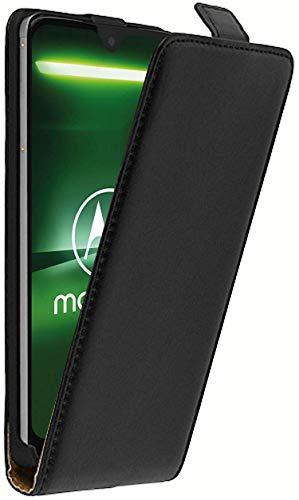 tomaxx FlipHülle für Moto Motorola G7 Power Dual-SIM Flip Schutzhülle Hülle Hülle Tasche mit Magnetverschluss