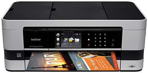 Brother Printer MFCJ4510DW Wireless Color Photo Printer with Scanner, Copier and Fax, Amazon Dash Replenishment Ready