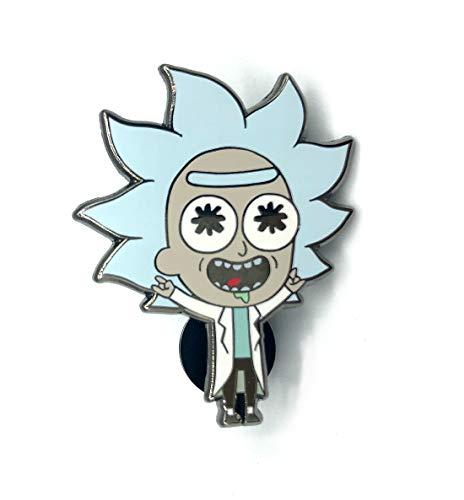 "Lil' Tiny Rick: 1.5"" collectible hard enamel pin"