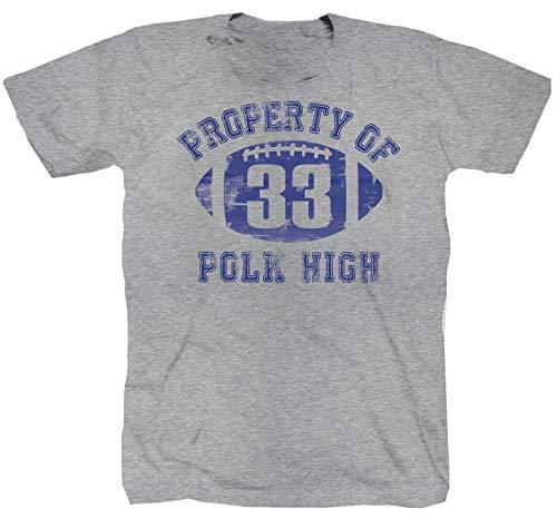 Polk High Al Bundy TV Series Film Chicago grau T-Shirt (2XL)