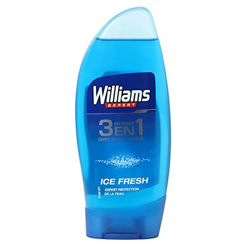 WILLIAMS Expert gel de ducha 3 en 1 ice fresh bote 250 ml