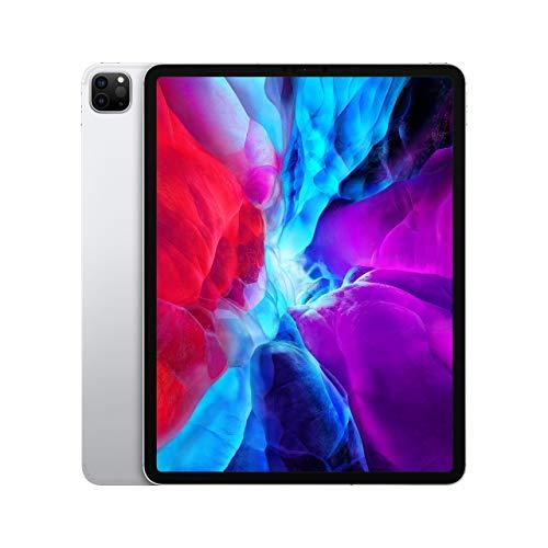 Apple iPad Pro (12.9-inch, Wi-Fi + Cellular, 128GB) - Silver (4th Generation) (Renewed)