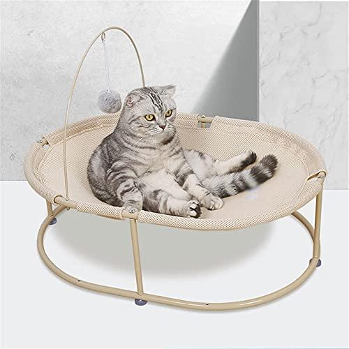 LEPSJGC Four Seasons Universal Cats Hängematte Pet Labrador Big Dog Bett Cradle Chair Recliner (Color : A)