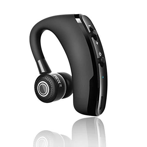 XZJJZ Auriculares Bluetooth, manos libres inalámbrico con micrófono Control de reducción de ruido estéreo de negocios, adecuado para el conductor de deportes teléfono inteligente