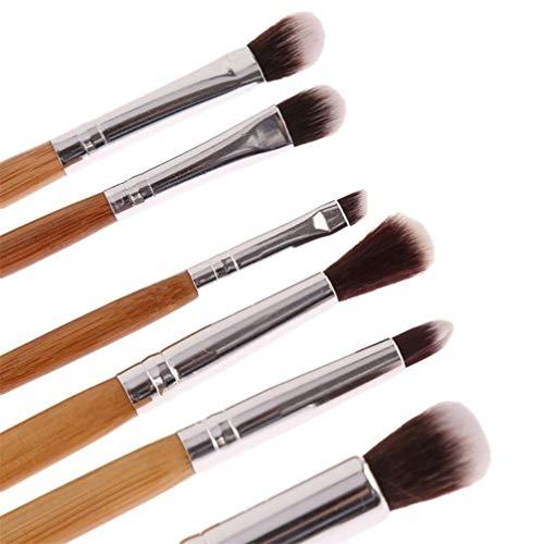 LoveAloe Maquillage Brush Set Professionnel Bamboo Handle Foundation Blending Blush Concealer Eye Face Liquid Powder Cream Cosmetics Brushes Kit, 11 Pcs