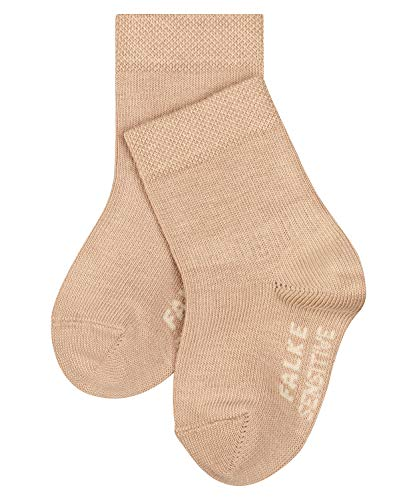 FALKE Unisex Baby Sensitive B SO Socken, beige (Ginger 4029), 74-80