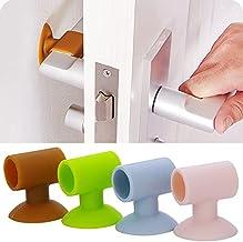 PPuujia Deur handvat muur mute anti-botsing pad deur kast deur handvat slot demper zuignap anti-botsing siliconen deur plu...