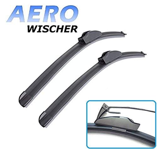 Hallenwerk 55cm & 40cm - AERO GOOD WIPER 2x voorruitenwissers platte ruitenwissers met haakbevestiging vervanging ruitenwisserbladen