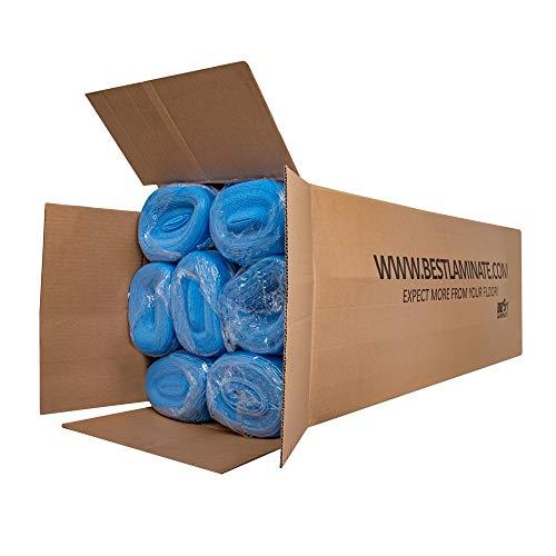 Blue Vapor 3-in-1 Flooring Underlayment Bundle - 700sf - 7 Rolls