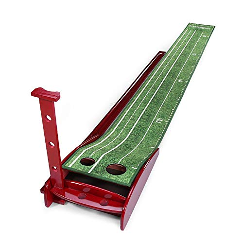 Best Buy! NDY Golf Putting Practice Device, Indoor Fairway Practice Mat, Anti-Skid Point Design On T...