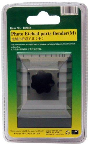 Master Tools 09932 - Modellbauzubehör Photo Etched Parts Bender, Biegehilfe für Fotoätzteile, M, grau