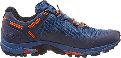 Salewa MS SPEED BEAT GTX, Herren Traillaufschuhe, Blau (Premium Navy/spicy Orange 3984), 44.5 EU (10 UK)