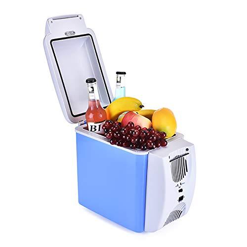 Refrigerador y calentador de coche termoeléctrico,7,5 litros,Mini refrigerador eléctrico portátil caja calentador congelador,Caming picnic viaje