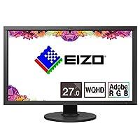 EIZO ColorEdge 27.0インチ カラーマネージメント 液晶モニター / WHQD / Adobe RGB 99% / USB Type-C / 5年間長期保証 / CS2731-BK