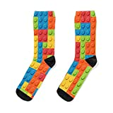 L_E_G_O P_A_T_T_E_R_N Socks Unisex socks for men and women, patterned socks, Xmas gifts