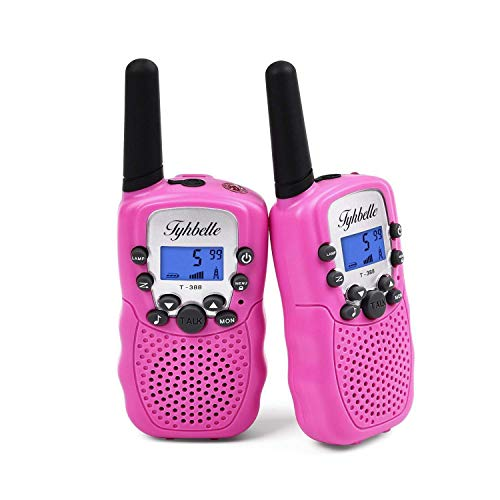 Tyhbelle Kids Walkie Talkies 2 pcs for Boys and Girls Gifts with 8 Channels...