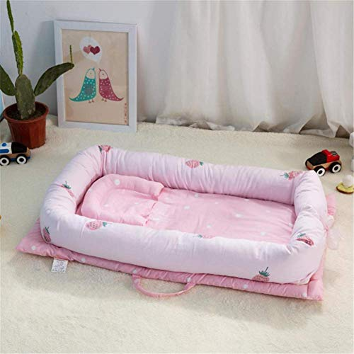 Great Price! Baby Nest Bed Crib Portable Removable and Washable Baby Crib Travel Bed for Children In...