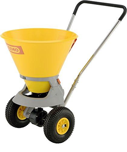 Cemo 10643 Épandeur SW de 35 C, gris/jaune, 35 l