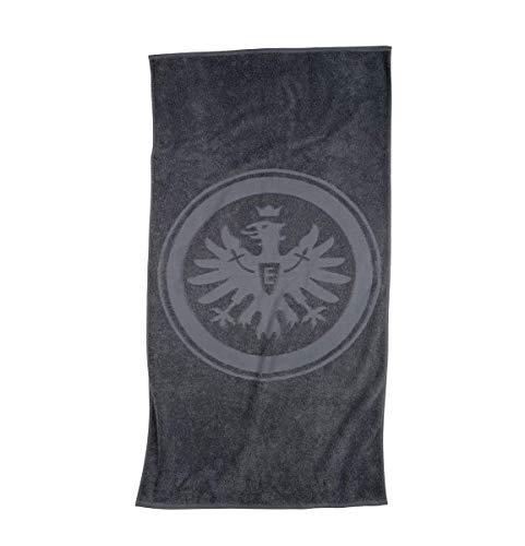 Eintracht Frankfurt Handtuch, Duschtuch, Badetuch (Handtuch 50/100cm, grau)