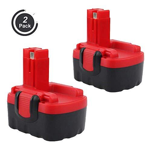 2X FUNMALL 14.4V 3.5Ah Batteria per Bosch BAT038 BAT040 BAT041 BAT140 BAT159 2607335275 2607335276 2607335533 2607335534 2607335465 2607335678 2607335685 2607335711