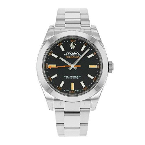 Rolex Milgauss 116400GV, orologio automatico in acciaio inossidabile da...