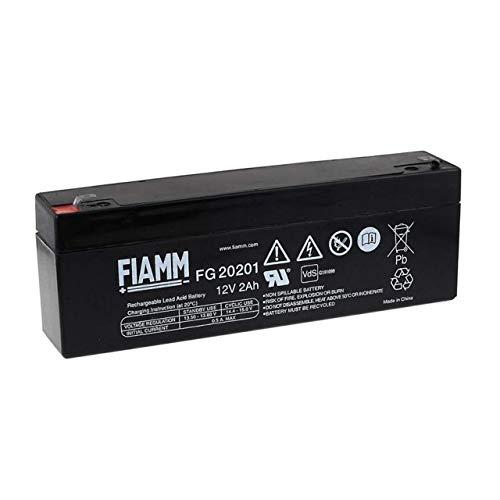 POWERY FIAMM Batteria ricaricabile al piombo FG20201 Vds, Lead-Acid, 12V