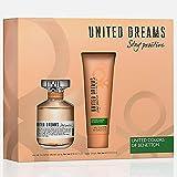 BENETTON STAY POSITIVE UNITED DREAMS - Eau de Toilette Natural Spray 80 ml + Body Lotion 75 ml