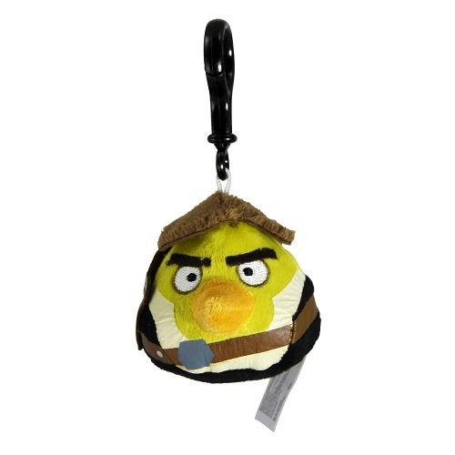 Angry Birds Star Wars Plush Backpack Clip - Han Solo