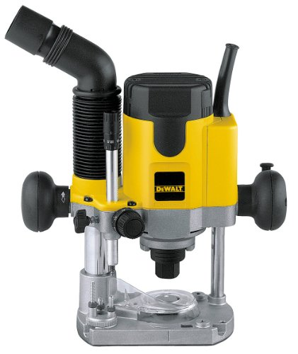 Dewalt DW621K bovenfrees, 1100 W, zwart, geel