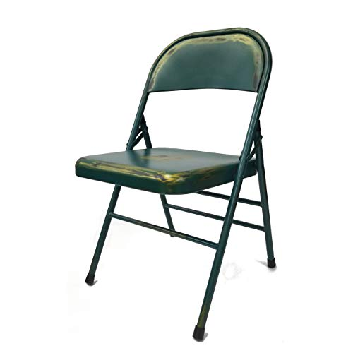 Fine Mod Imports fmi10294-turquoise turchese antico sedia pieghevole, turchese