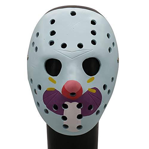 Sulifor Halloween Horror Resin Mask Tückisches Spielzeug Scary Props Relaxed Realistische Masken Cosplay Halloween Kleid Ghost Horror