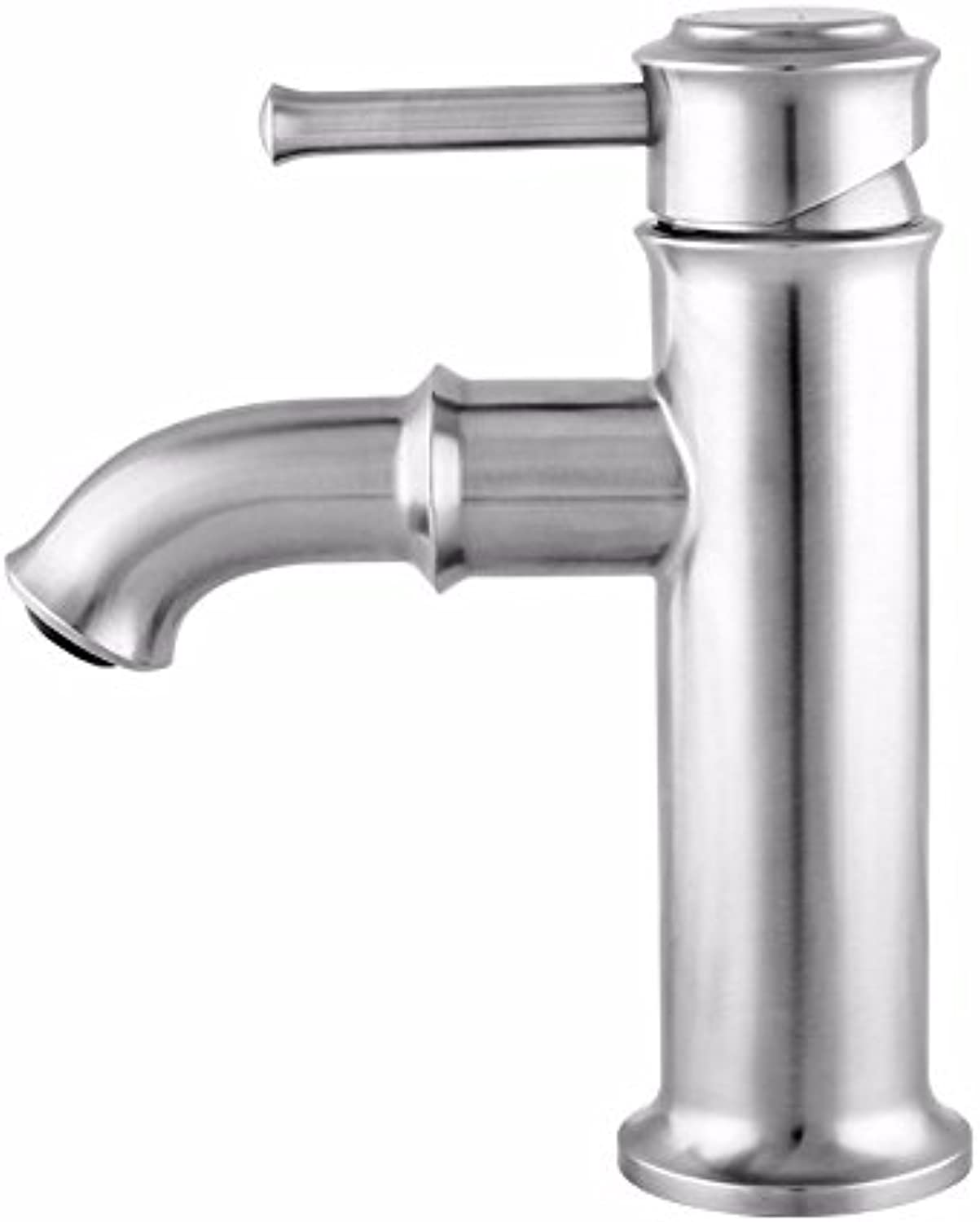 LIANTIAN Lead-Free 304 Stainless Steel Single Hole redatable hot and Cold Water???Kitchen Bathroom Bathroom Basin Faucet???Simple???Environmental Predection and Energy Saving Bathroom Sink Taps