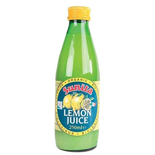 Sunita Org 250ml de jus de citron
