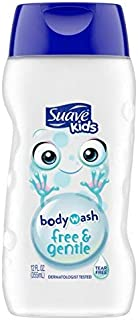 Suave Kids Kids Body Wash - Free & Gentle 12 Ounce (Pack of 2)